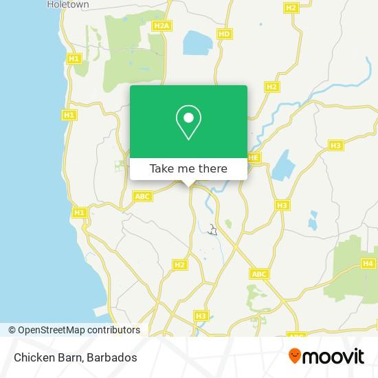 Chicken Barn map