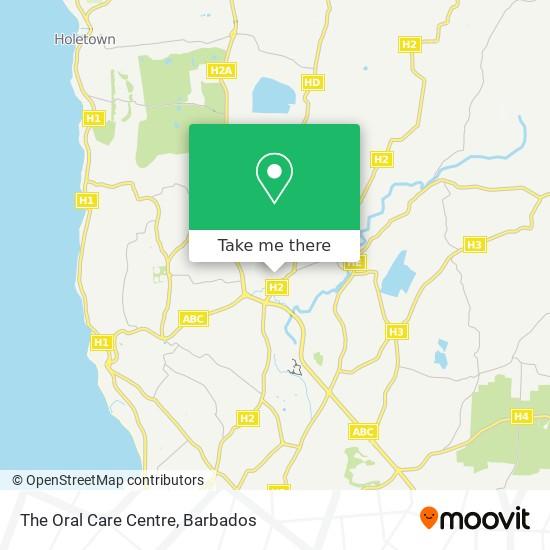 The Oral Care Centre map
