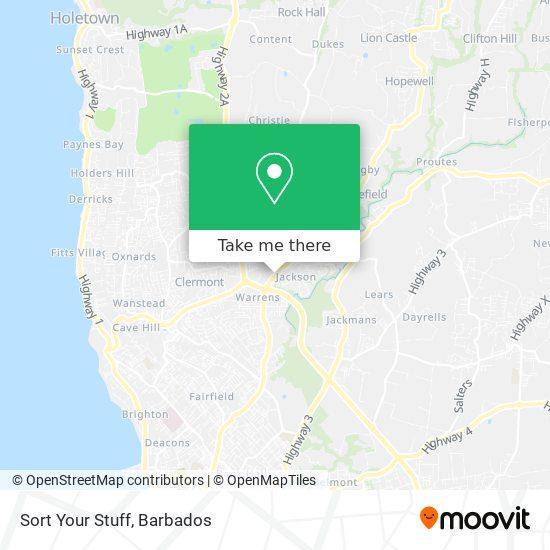 Sort Your Stuff map