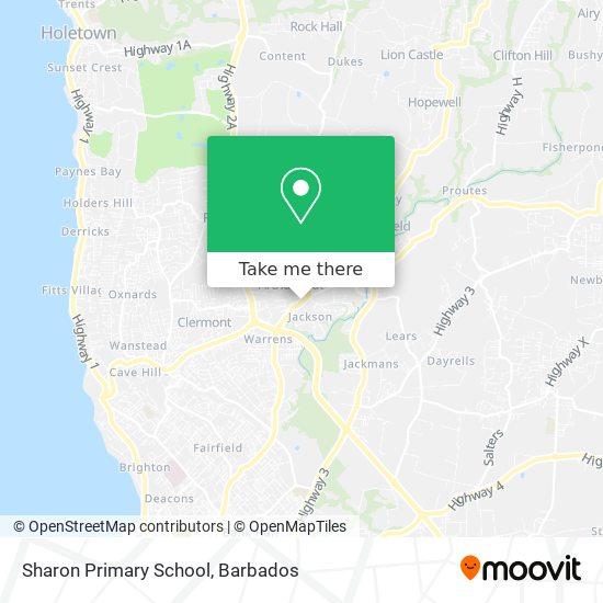 Sharon Primary School map