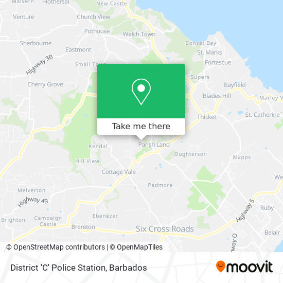 District 'C' Police Station map