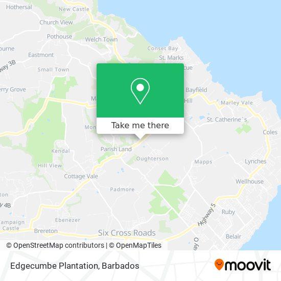 Edgecumbe Plantation map