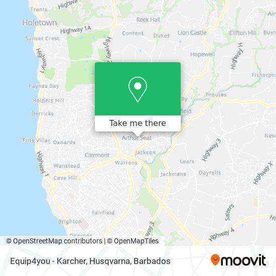 Equip4you - Karcher, Husqvarna map