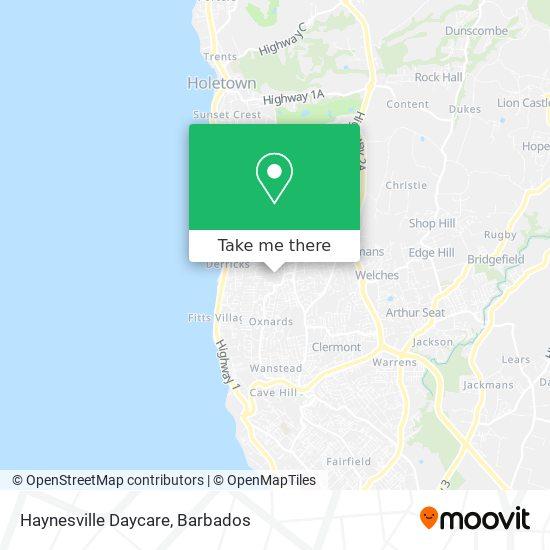 Haynesville Daycare map