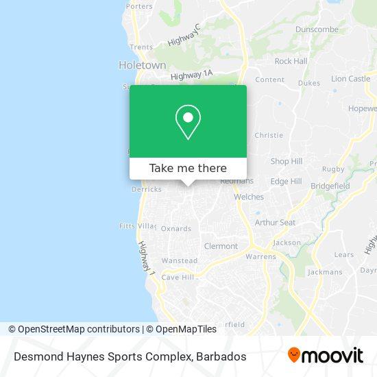 Desmond Haynes Sports Complex map