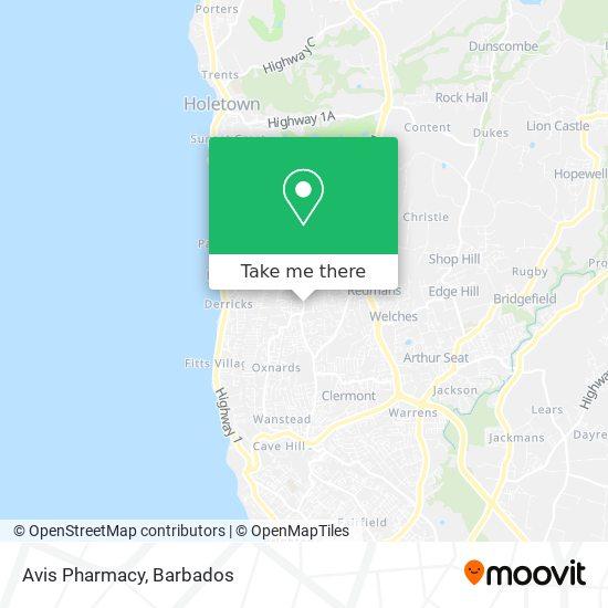 Avis Pharmacy map