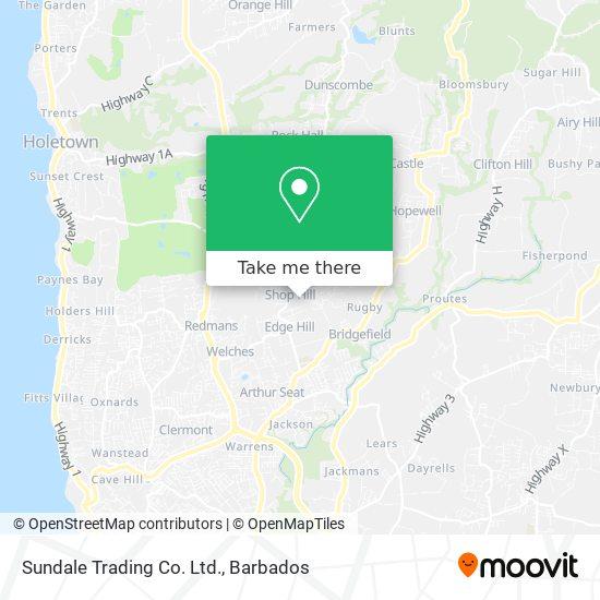 Sundale Trading Co. Ltd. map