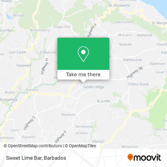 Sweet Lime Bar map