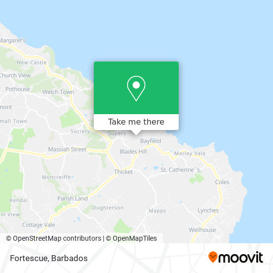 Fortescue map