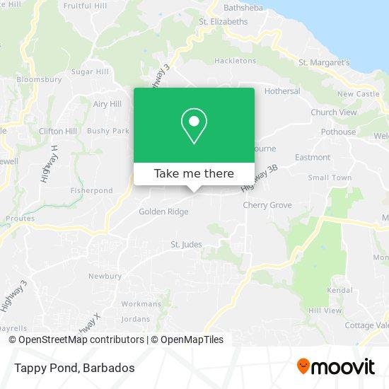Tappy Pond map