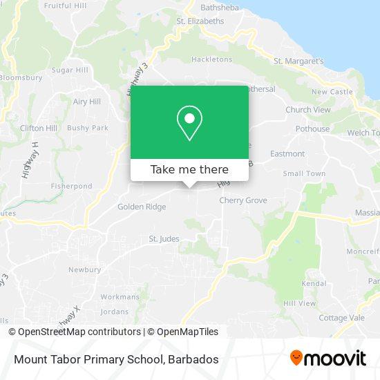 Mount Tabor Primary School map