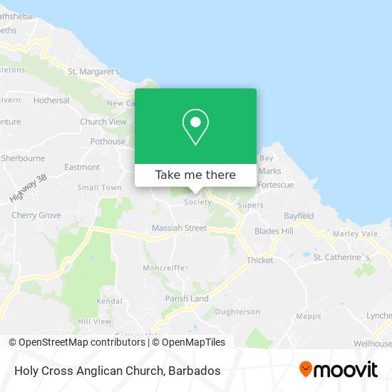 Holy Cross Anglican Church map