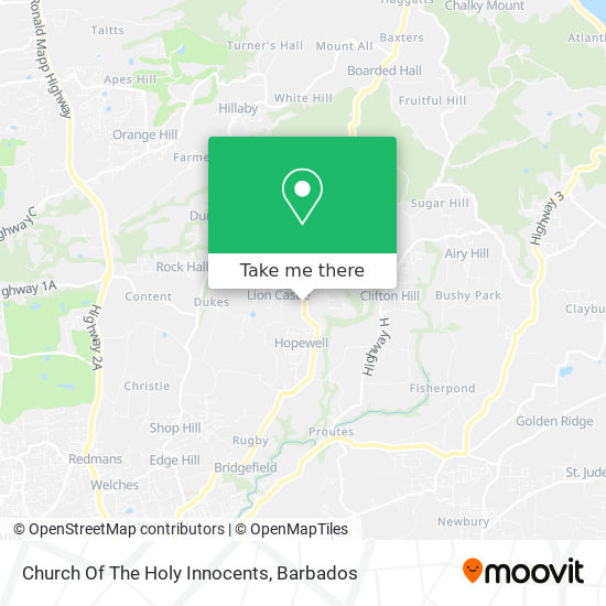 Church Of The Holy Innocents map