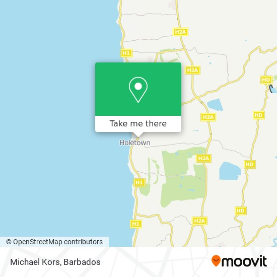 Michael Kors map