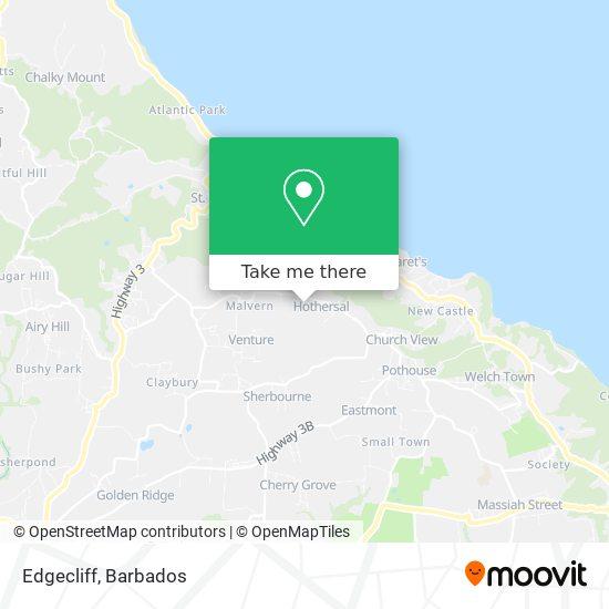 Edgecliff map