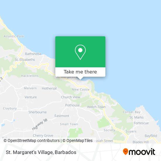 St. Margaret's Village map