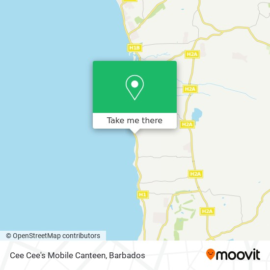 Cee Cee's Mobile Canteen map