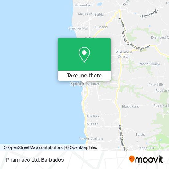 Pharmaco Ltd map