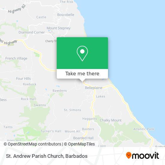 St. Andrew Parish Church map
