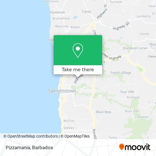 Pizzamania map