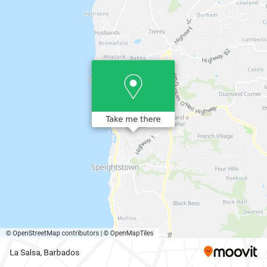 La Salsa map