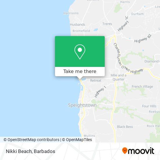 Nikki Beach map