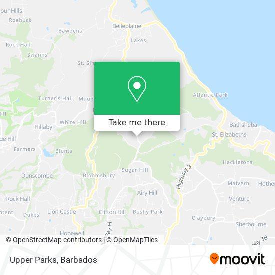 Upper Parks map