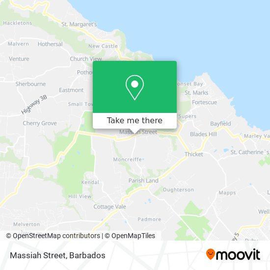 Massiah Street map