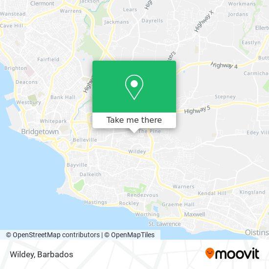 Wildey map