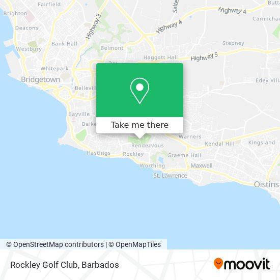 Rockley Golf Club map