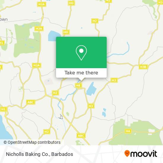 Nicholls Baking Co. map