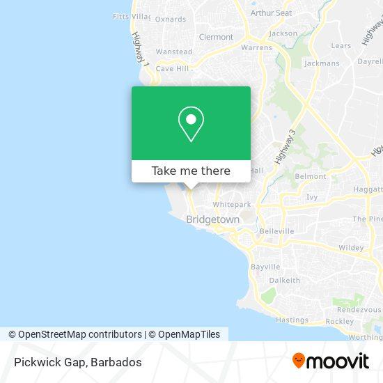 Pickwick Gap map