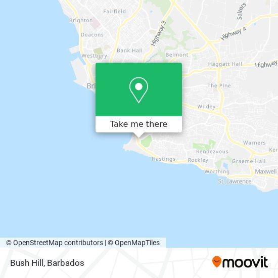 Bush Hill map