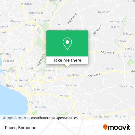 Rouen map