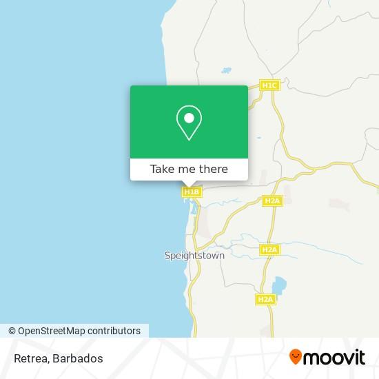 Retrea map