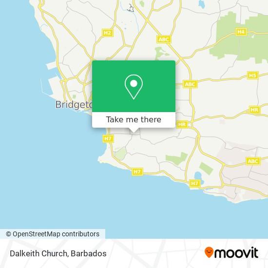 Dalkeith Church map