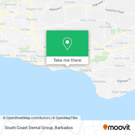 South Coast Dental Group map