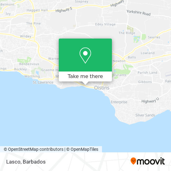 Lasco map