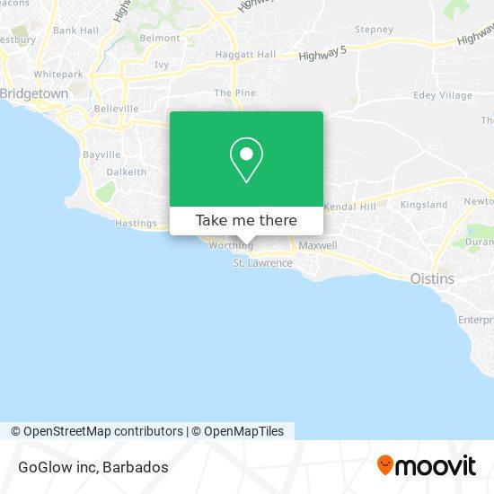 GoGlow inc map