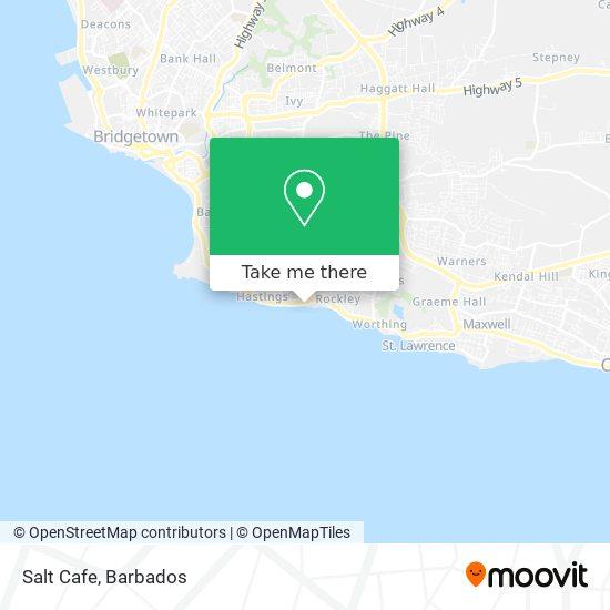 Salt Cafe map