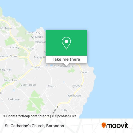St. Catherine's Church map