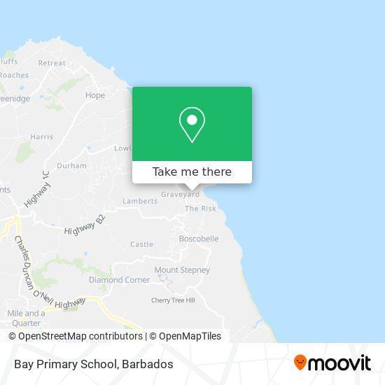 Bay Primary School map