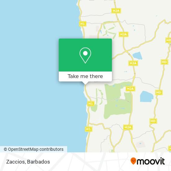 Zaccios map