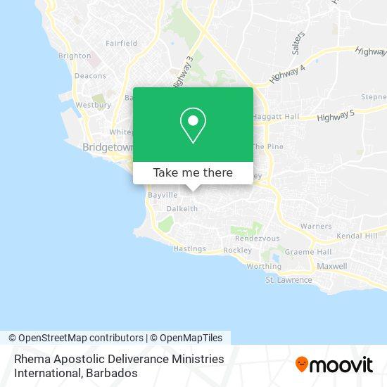 Rhema Apostolic Deliverance Ministries International map