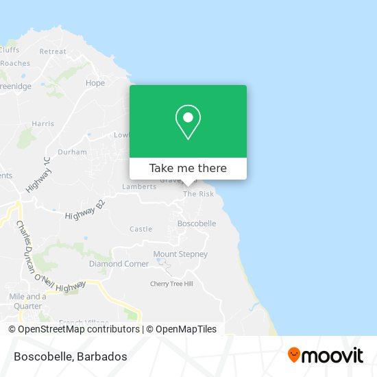 Boscobelle map