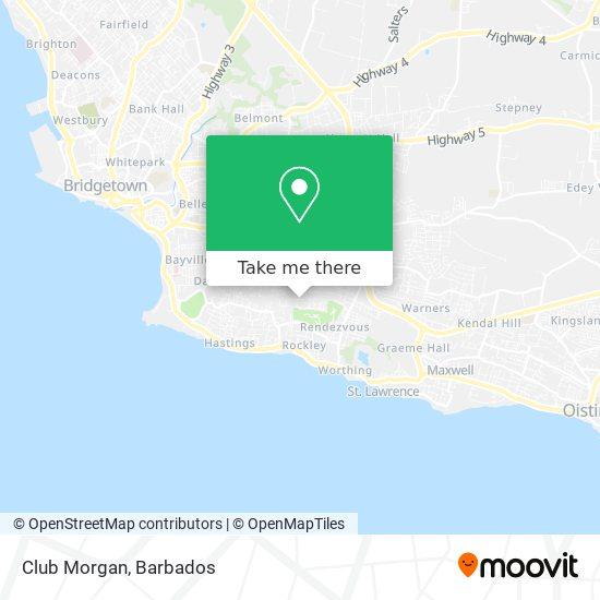 Club Morgan map