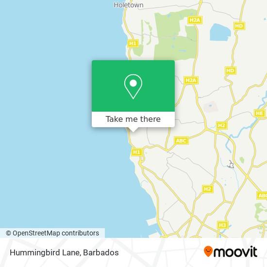 Hummingbird Lane map