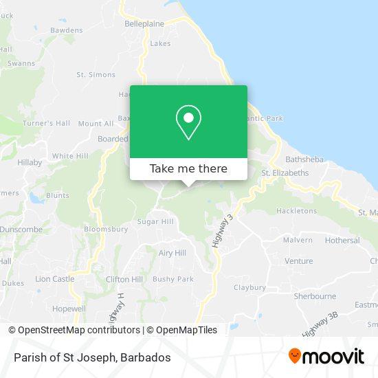 Parish of St Joseph map