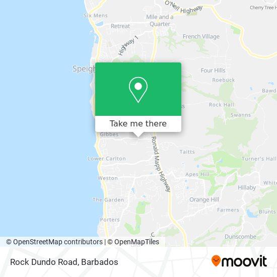Rock Dundo Road map