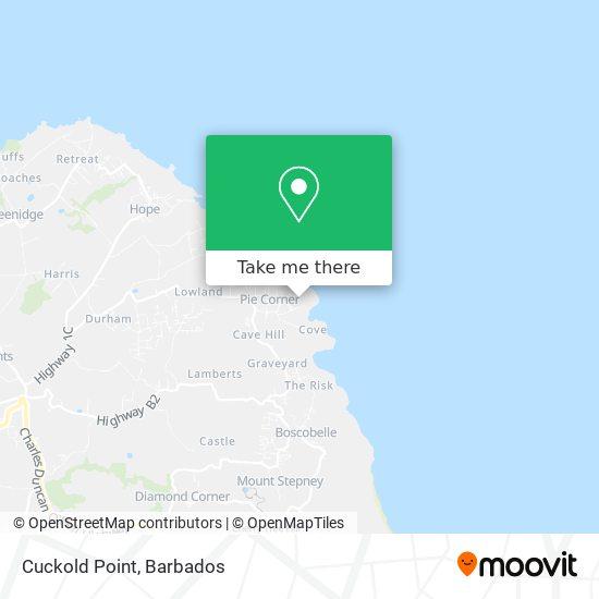Cuckold Point map